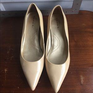 Beige Pumps. 1.5 inch Heels. Elie Tahari